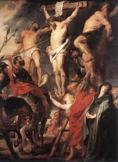 キリストの磔刑ルーベンス