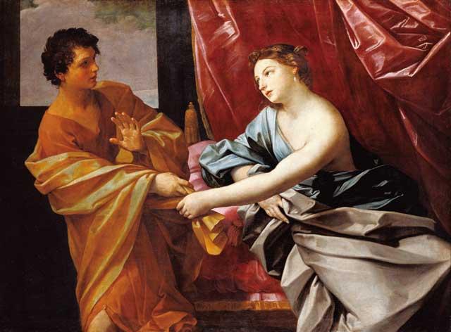グイド・レーニ「ヨセフとポティファルの妻」